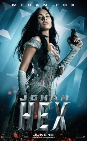 Megan Fox as Leila in Jonah Hex movie poster