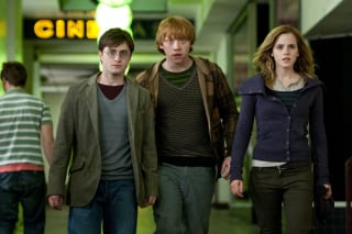 Daniel Radcliffe, Rupert Grint, Emma Watson Harry Potter and the Deathly Hallows movie image